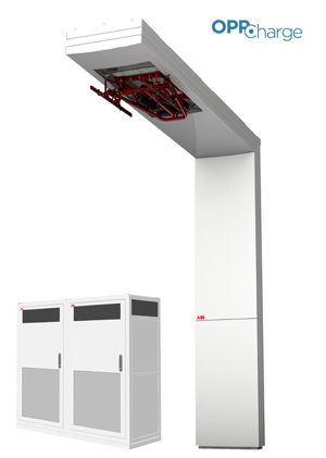 ABB HVC Opportunity Charging System