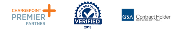 Verdek Partners: ChargePoint Premier Partner, Dun & Bradstreet Verified 2018, GSA Contract Holder